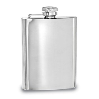 7oz Polished Hip Flask