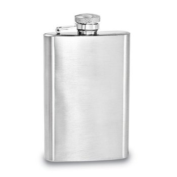 4oz Brushed Flask