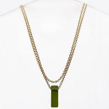 Stiletto Glass Necklace