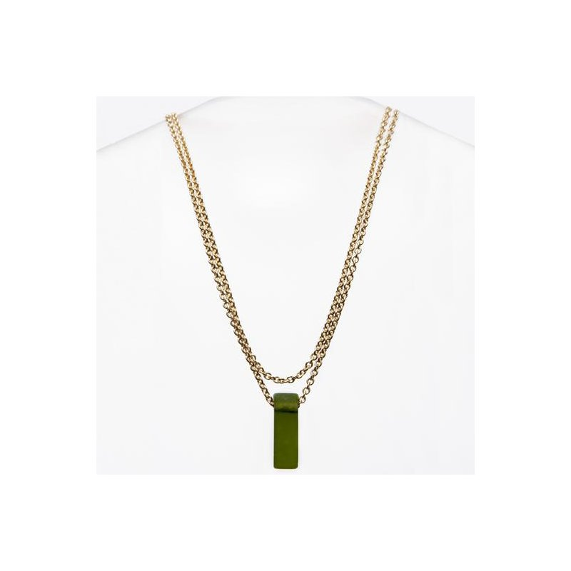 Smart Glass Stiletto Glass Necklace