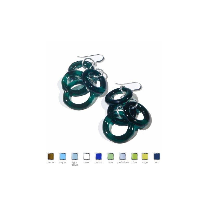 Smart Glass Chandelier Earrings