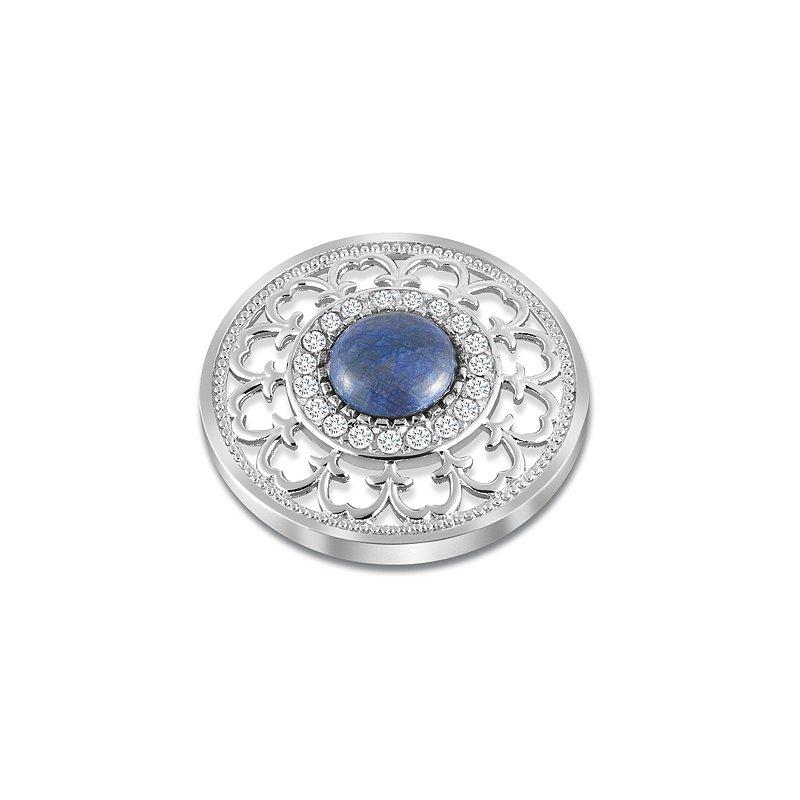 Cosi Bella 25Mm Sapphire And White Topaz