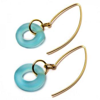 Mini Boomerang Dangle Earrings