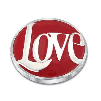 25Mm Love Enamel