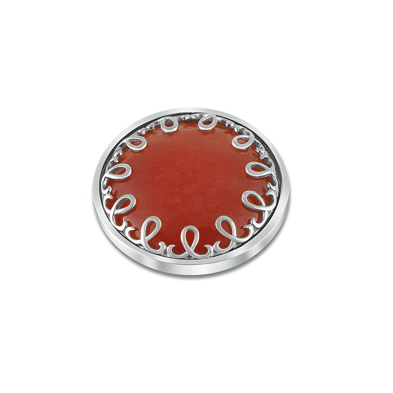 "Cosi Bella 33Mm ""Cherry Red"" Quartizite"