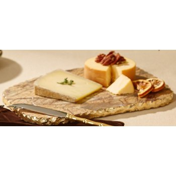 Brown Marble Cheeseboard