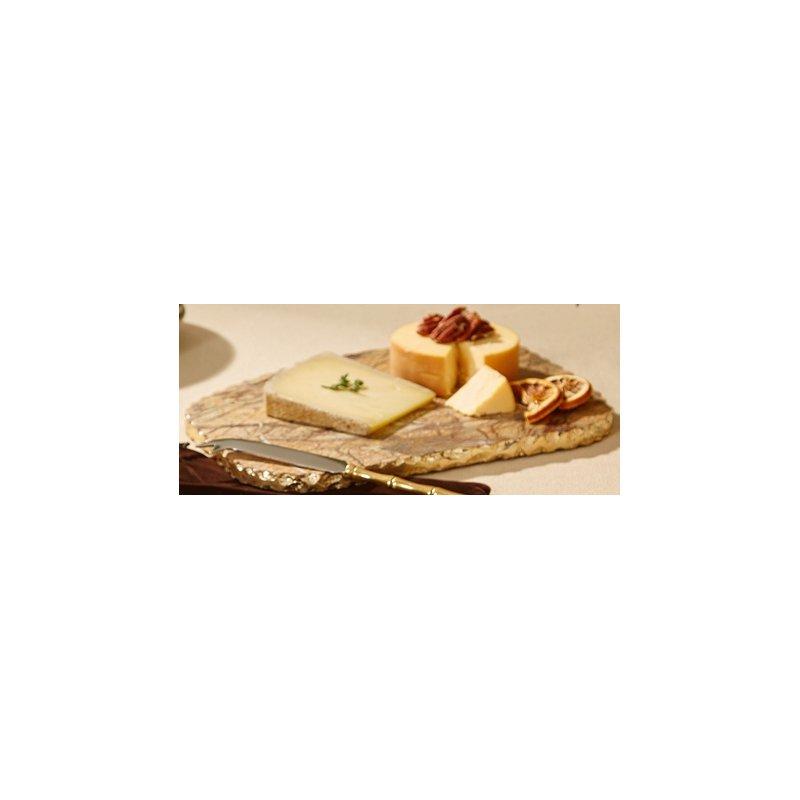 LM Food & Beverage Brown Marble Cheeseboard