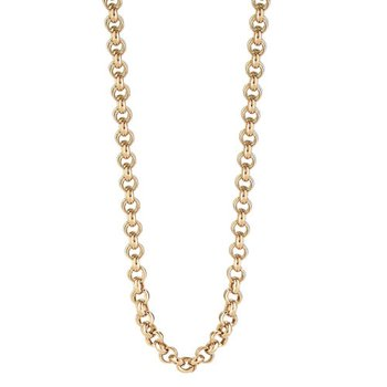 "18-22"" Rolo Rose Chain"