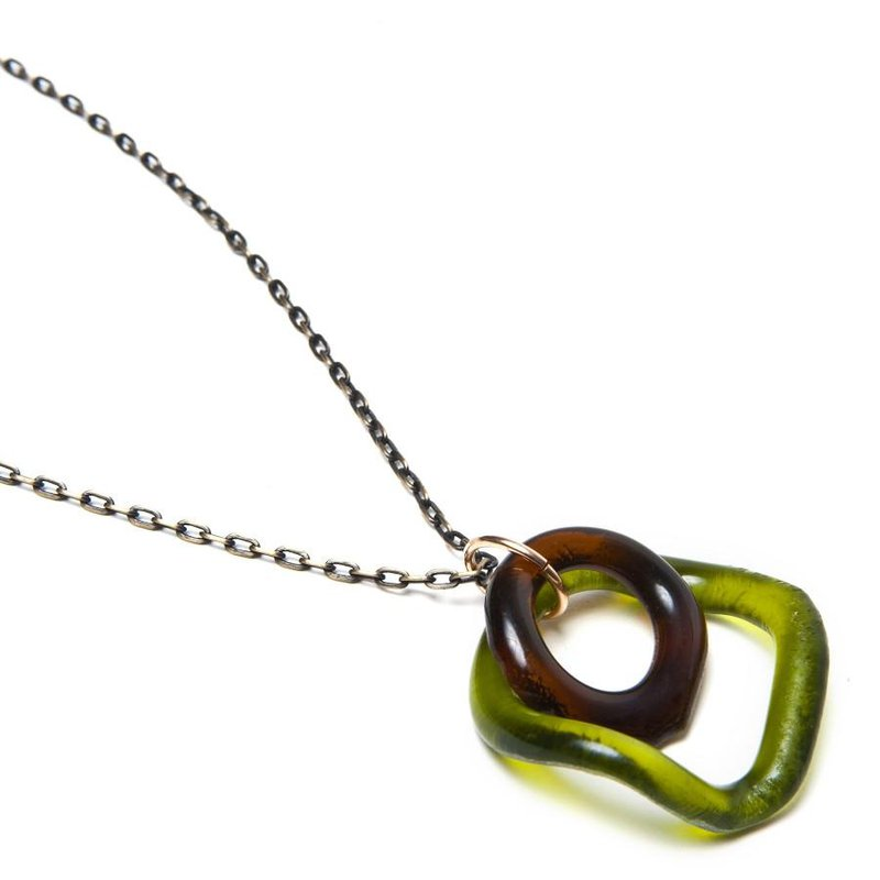 Smart Glass Small Wave Pendant