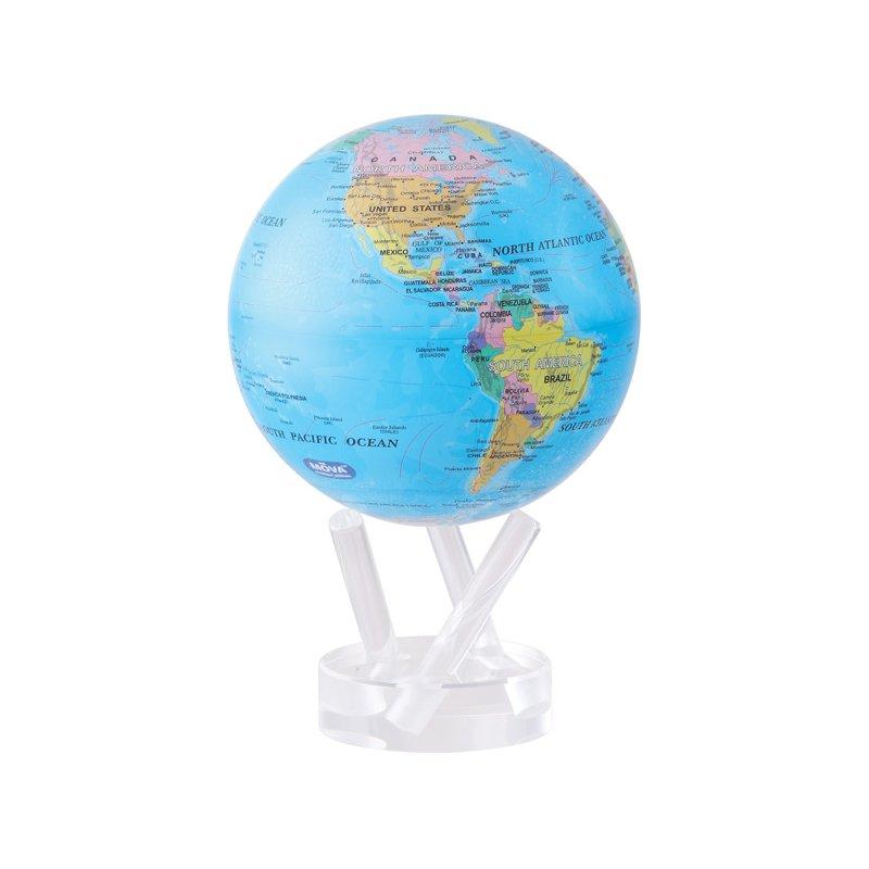 "Mova Globes 6"" Blue Ocean Mova Globe"