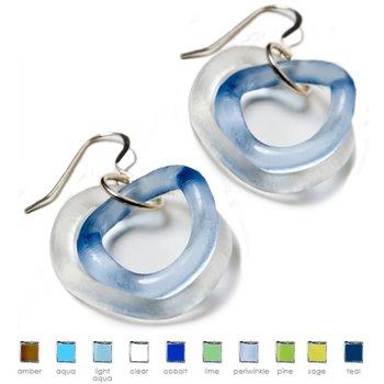 Small Wave Earrings