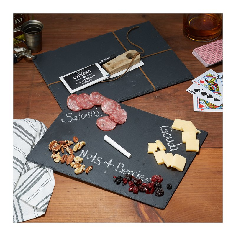 LM Food & Beverage Slate Cheeseboard