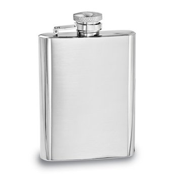 4oz Polished Hip Flask