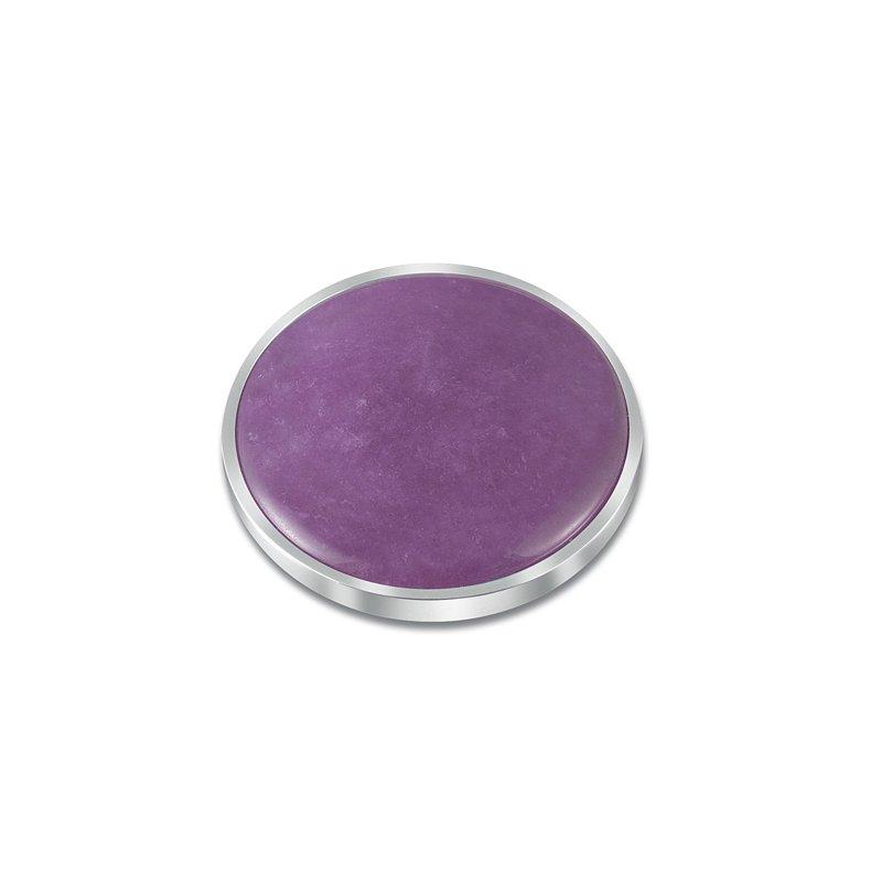 """Cosi Bella 25Mm """"Peony"""" Purple Quartzite"""