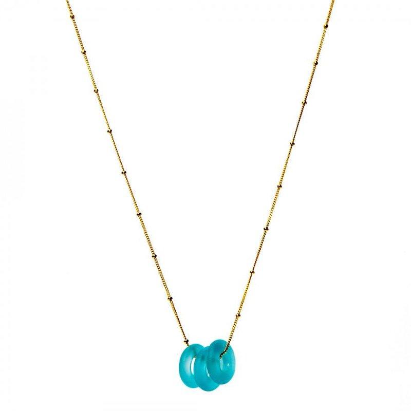 Smart Glass Mini Triple Glass Necklace