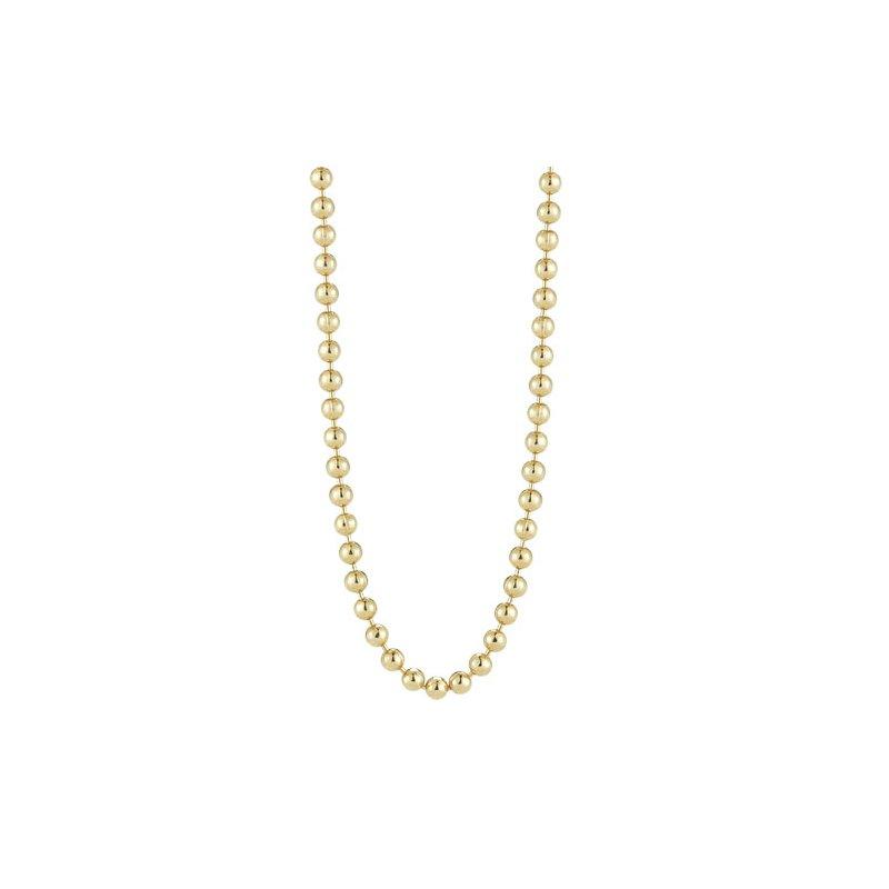 """Cosi Bella 18"""" Bead Yellow Chain"""