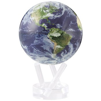 "4.5"" Satellite View With Cloud Cover Globe"