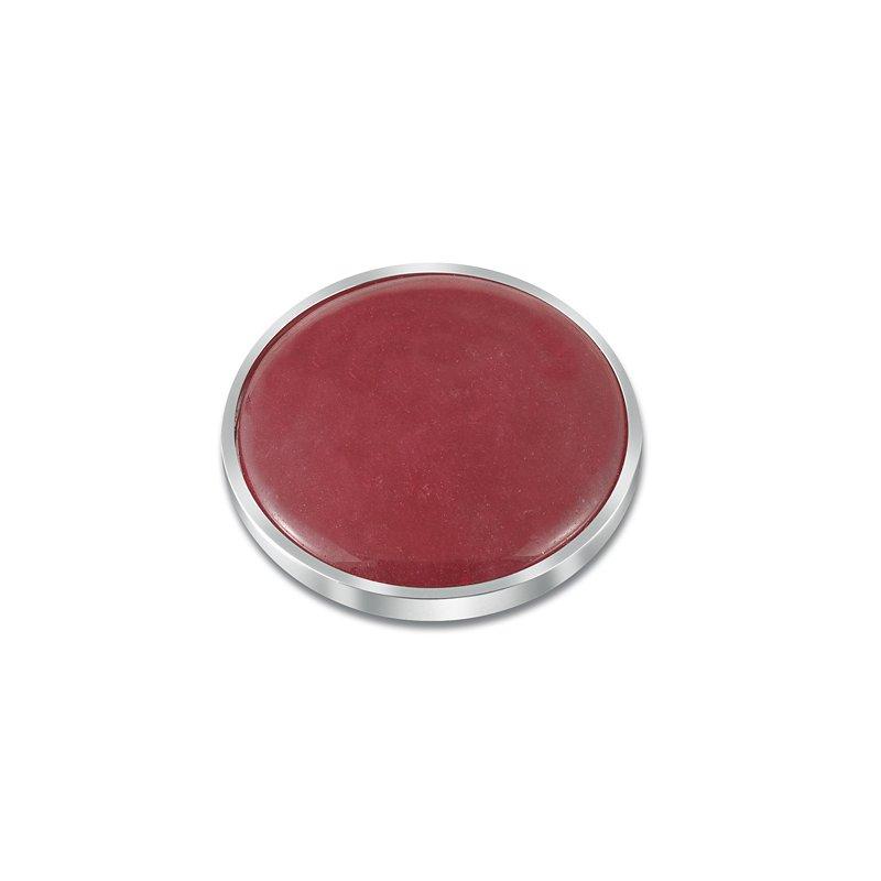 """Cosi Bella 25Mm """"Lipstick"""" Red Quartzite"""
