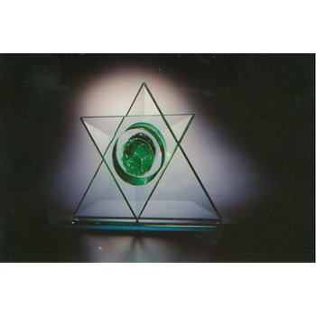 Star of David Table Sculpture