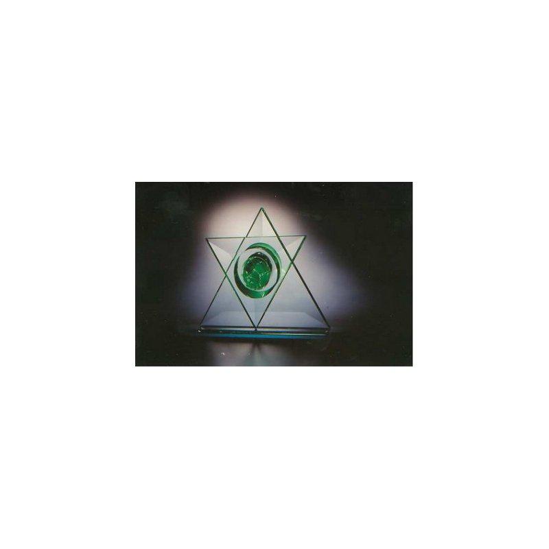 Shardz Star of David Table Sculpture