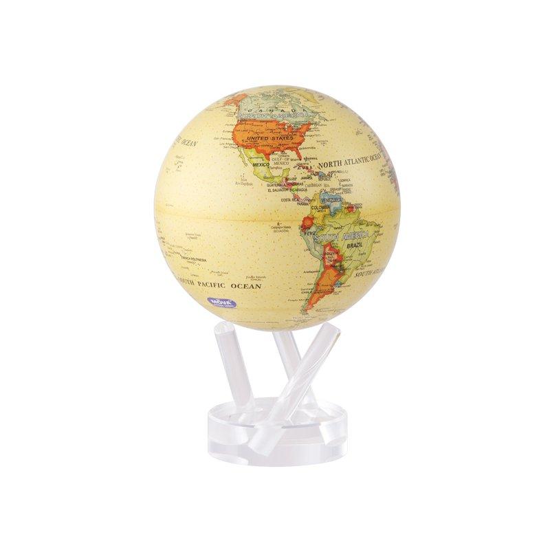 "Mova Globes 6"" Antique Beige Globe"
