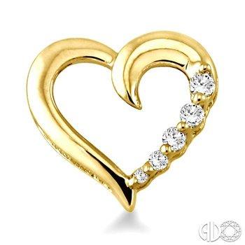 HEART JOURNEY DIAMOND EARRINGS