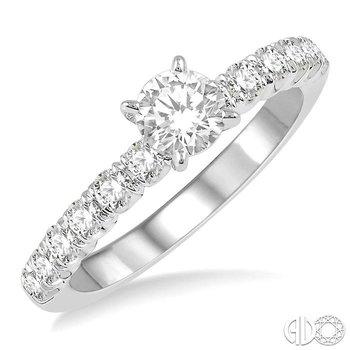 ENDLESS EMBRACE SEMI-MOUNT DIAMOND RING