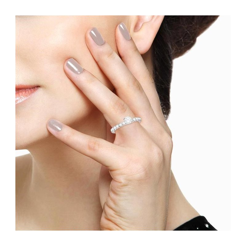 Lovebright Collection Jewelry ENDLESS EMBRACE SEMI-MOUNT DIAMOND RING