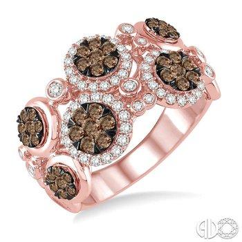 LOVEBRIGHT CHAMPAGNE DIAMOND RING