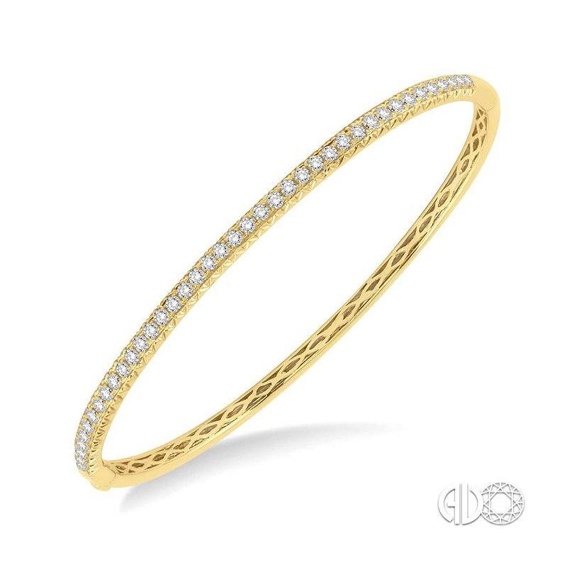 Lovebright Collection Jewelry DIAMOND STACKABLE BANGLE