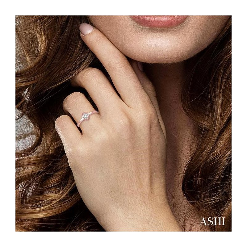 Lovebright Collection Jewelry OVAL SHAPE DIAMOND PROMISE RING