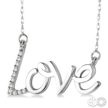 LOVE DIAMOND PENDANT