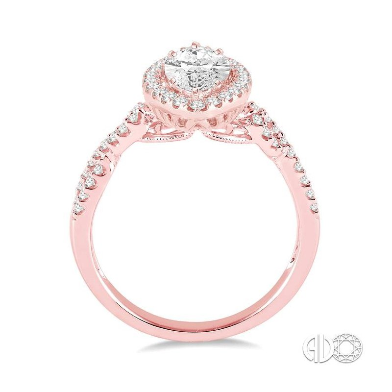 Lovebright Collection Jewelry MARQUISE SHAPE DIAMOND ENGAGEMENT RING