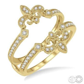 DIAMOND FLEUR DE LIS INSERT