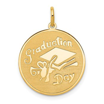 14k GRADUATION DAY Disc Charm