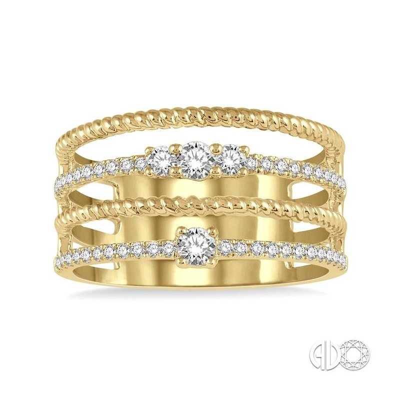 Lovebright Collection Jewelry DIAMOND FASHION OPEN RING
