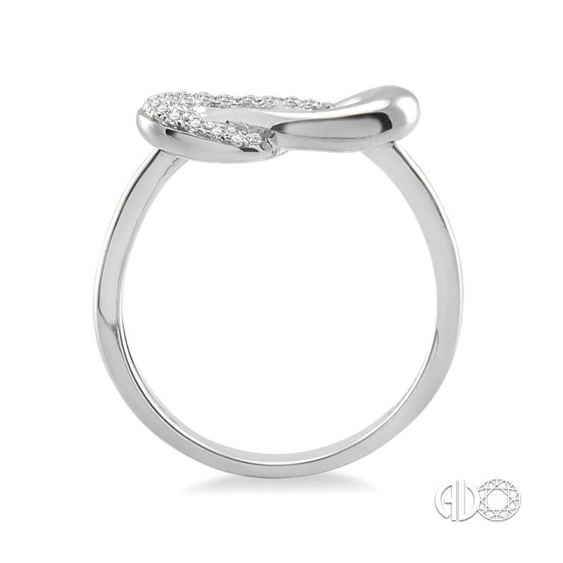 Lovebright Collection Jewelry KNOT DIAMOND RING