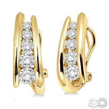 JOURNEY DIAMOND EARRINGS