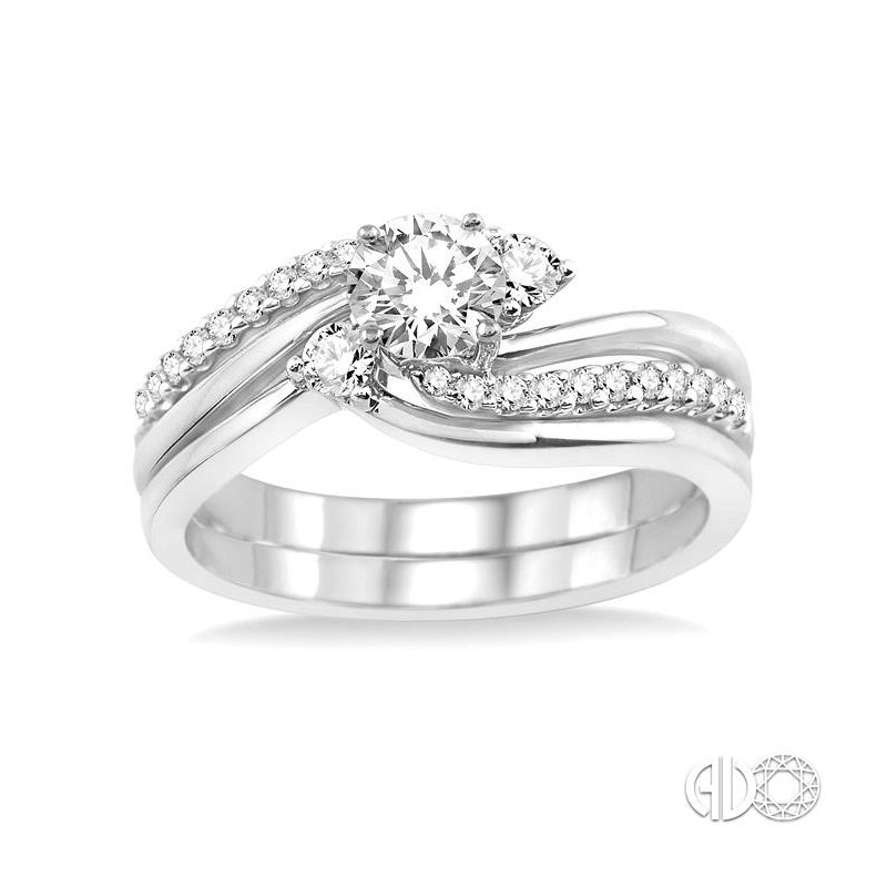 Lovebright Collection Jewelry DIAMOND WEDDING SET