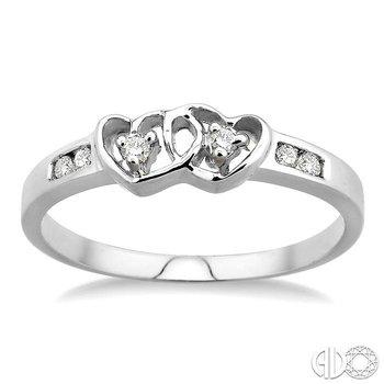 TWIN HEART DIAMOND RING