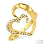 Lovebright Collection Jewelry HEART DIAMOND RING