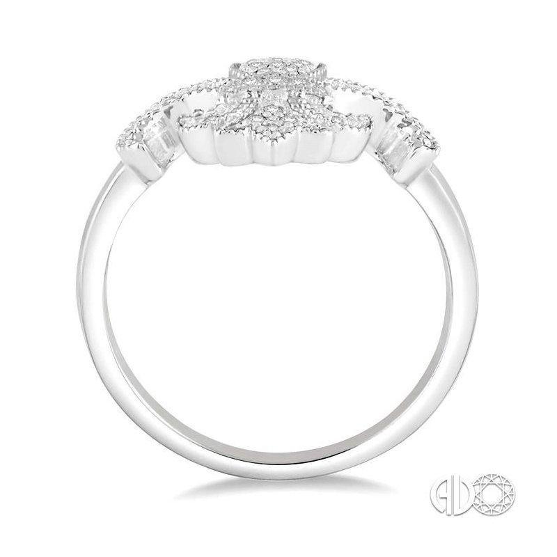 Lovebright Collection Jewelry DIAMOND FLEUR DE LIS RING