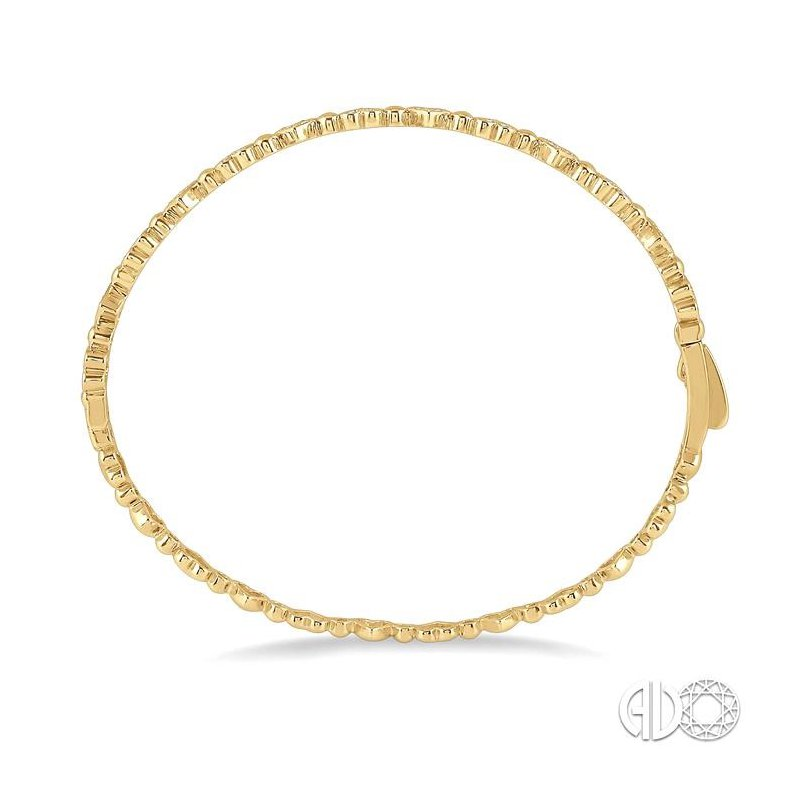 Lovebright Collection Jewelry DIAMOND HEART STACKABLE BANGLE