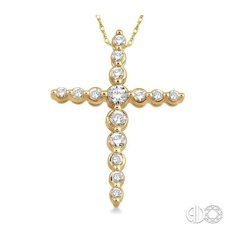Lovebright Collection Jewelry JOURNEY CROSS DIAMOND PENDANT