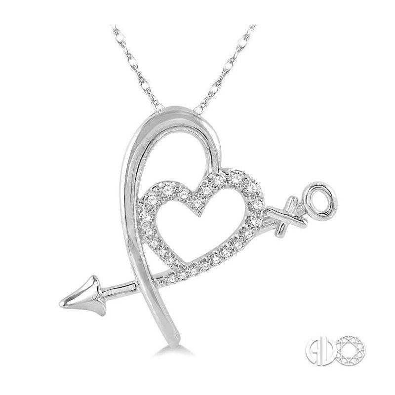 Lovebright Collection Jewelry DIAMOND HEART PENDANT