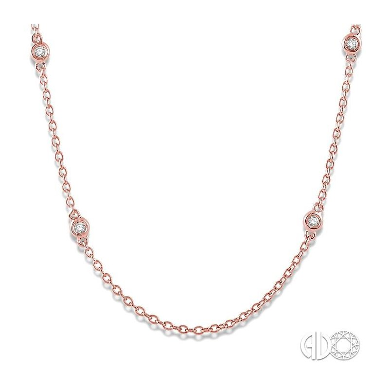 Lovebright Collection Jewelry DIAMOND STATION NECKLACE