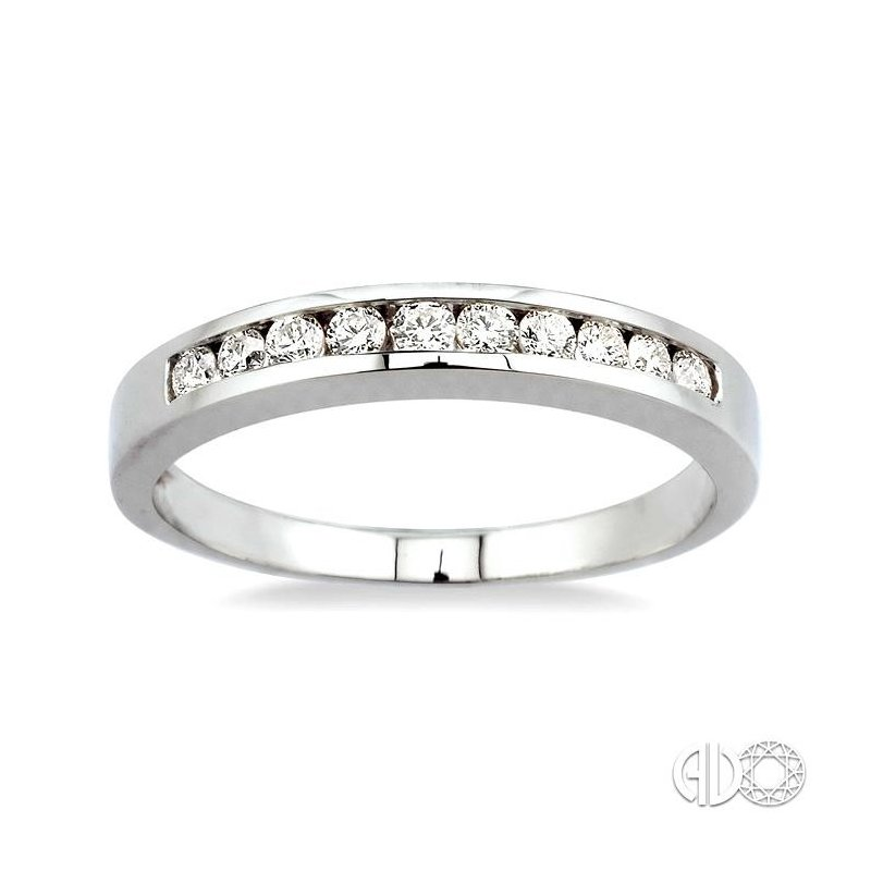 Lovebright Collection Jewelry CHANNEL SET DIAMOND WEDDING BAND