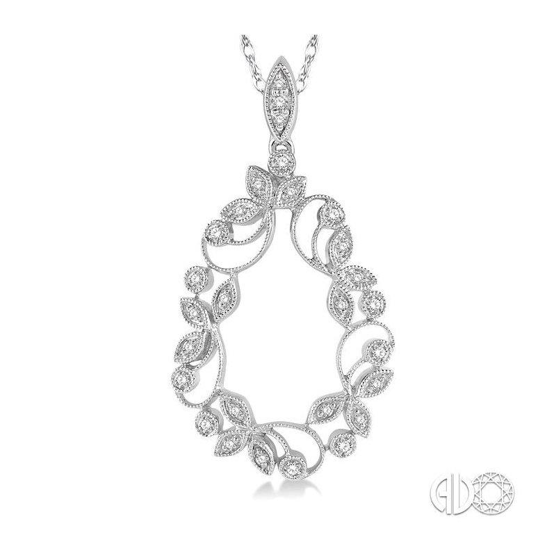 Lovebright Collection Jewelry DIAMOND DROP SHAPE PENDANT