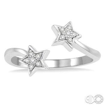 TWIN STAR DIAMOND RING