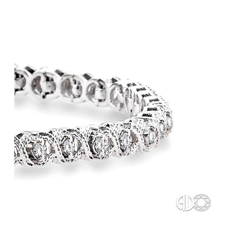 Lovebright Collection Jewelry 'X' & 'O' SHAPE DIAMOND BRACELET